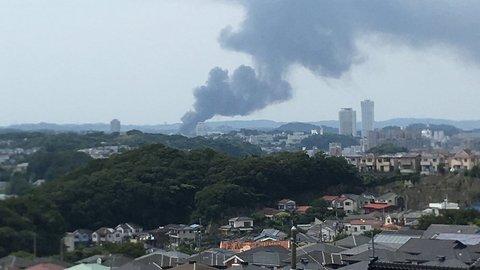 【火事】横須賀市田浦…