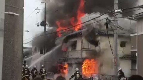 池田市 火事