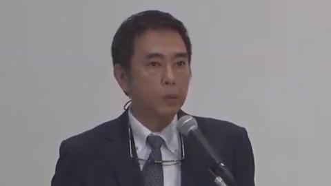 岡本社長会見 司会者…