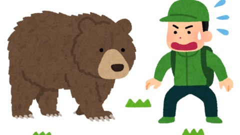 【熊】山梨 道志村女…