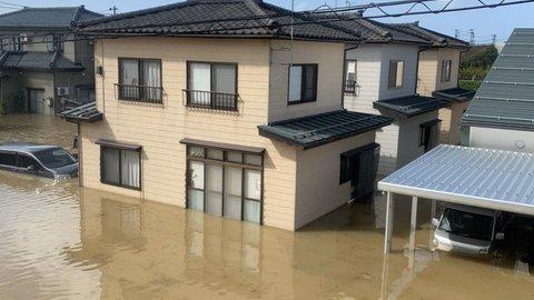 【台風19号】信濃川…