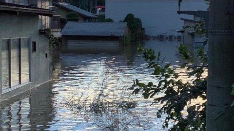 【浸水】茨城大子町 …