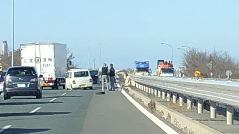 磐田 バイパス 事故 【事故】国道1号 磐田バイパス 下り 見付IC付近で事故