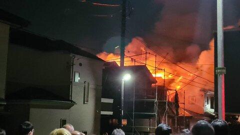 甲府市放火事件 逮捕…