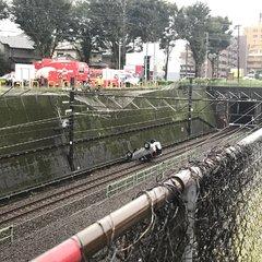 画像】武蔵野線 線路内車転落「...