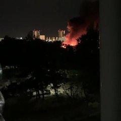 中央 千葉 区 火事 市