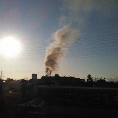 【火事】兵庫県尼崎市 尼崎駅付近で火事発生 | まと …