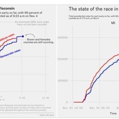 不正投票か】ウィスコンシン州の開票で怪しい動き たった1時間の間に ...