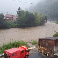【氾濫危険】広島県広島市 三篠川が避難判断水位 氾濫の恐れ「三篠川の氾濫警戒情報なんて初めて見たぞ…」