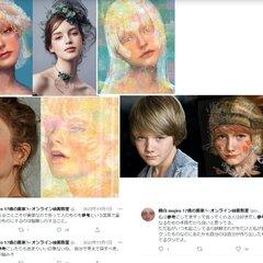 【トレパク炎上】萌白mejiro(萌白さん) にトレパク疑惑!「そちらで紹介された萌白さん、様々な検証がされていますが画家ですかこれ?」